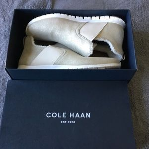 Cole Haan Slip On Boots